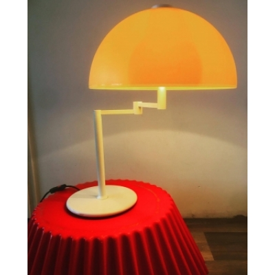 Grote vintage design schemerlamp