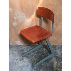 Oude Houten Kinderstoel.Stoelen