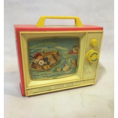 Vintage Fisher-Price two tune tv