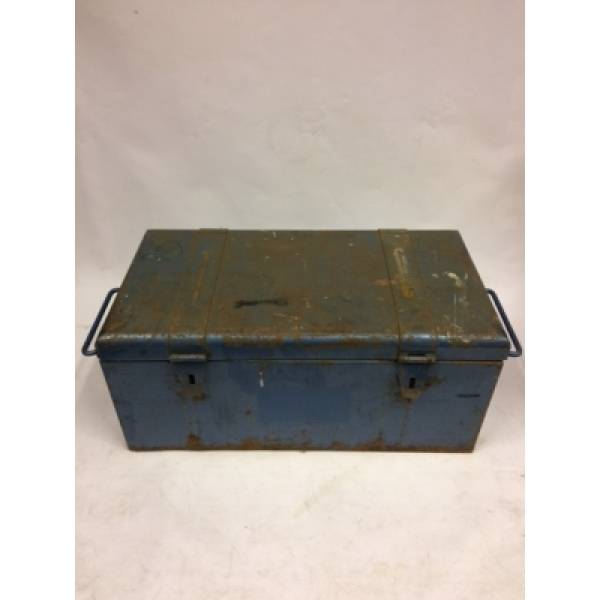 Nieuw Vintage industriele ijzeren kist nr 161 XD-79